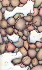 Rocks, Sticks, Snow