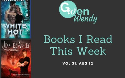 Books I read this week: Vol 31, Aug 12