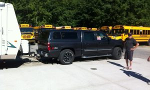 Custom Towing Hitch Install