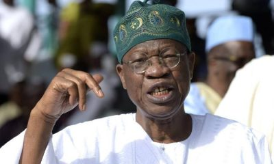 Lai Mohammed Denies Blaming Murtala Mohammed For Spate Of Insecurity