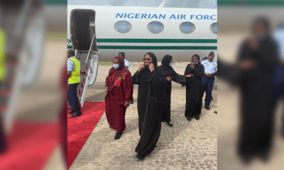 Aisha Buhari Returns To Nigeria After Six Months In Dubai