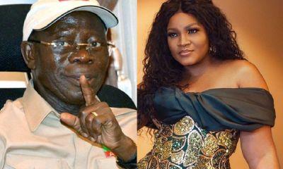omotola's denial of Oshiomhole