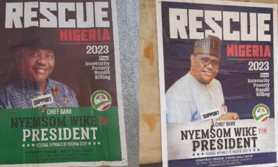 How My campaign posters landed in Abuja - Wike