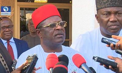 Ebonyi: Governor Umahi Drops Message For Youths Interested In Joining Politics
