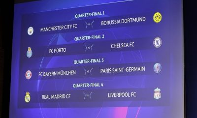 UCL Draw: Madrid Face Liverpool, Porto Take on Chelsea