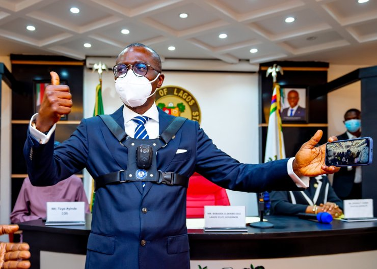 Law Enforcement Officers In Lagos To Use Body Camera, Says Sanwo-Olu