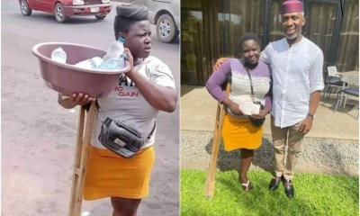 Disabled Lady Gets N1,000,000 From Ugwumba Uche Nwosu