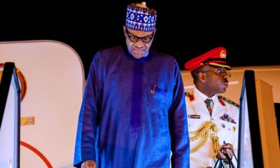 BREAKING: Buhari Returns To Nigeria 15 Days After 'Short Rest' In London