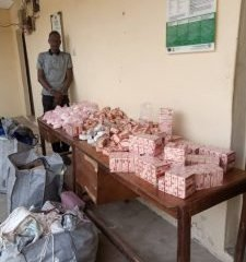 Photo: NDLEA Arrests Chadian Supplying Illicit Drugs To Boko Haram