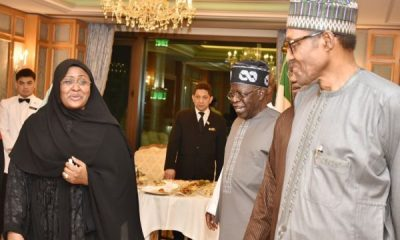 Buhari Absent As Tinubu Showers Praises On His Wife, Aisha At Presidential Villa