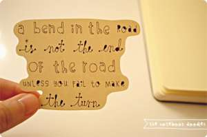 bend in the road quote