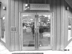 Stonewaters doors b & w