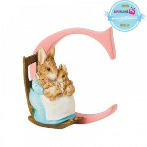 "Peter Rabbit – ""C"" – Mrs. Rabbit and Bunnies"