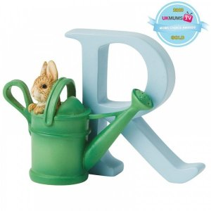 """Peter Rabbit – """"R"""" – Peter Rabbit in Watering Can"""