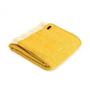 Yellow Beehive Throw