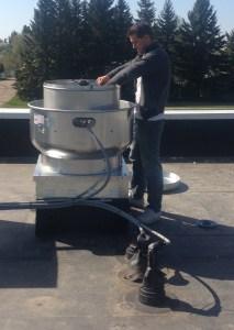 Kitchen exhaust