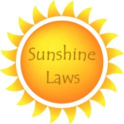Image result for sunshine laws