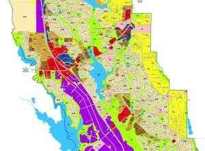 Peachtree city planning map partial