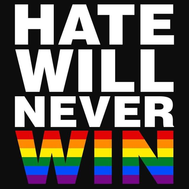 hate won't win
