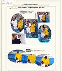 Baptisms Gallery thumbnail