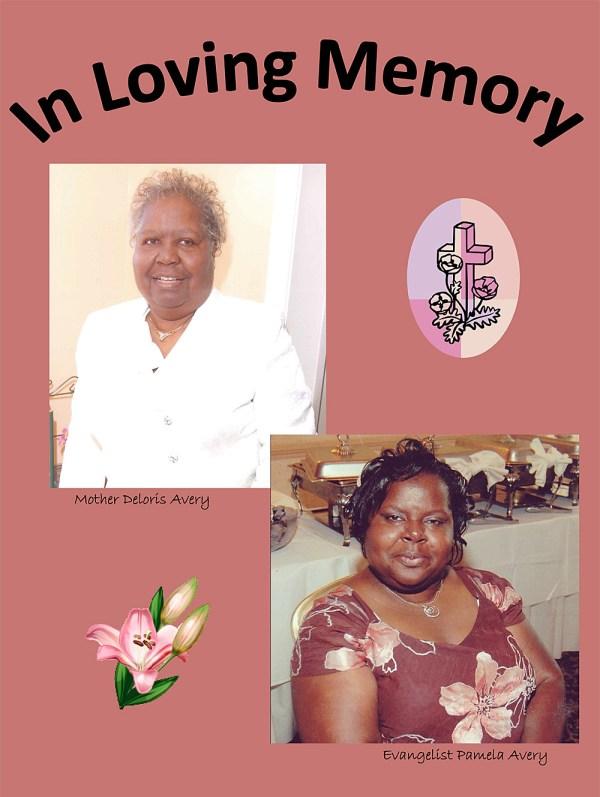 Deloris Avery & Pamela Avery memorium