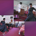 Sister Andria Banks and Interpretive Dance at Pentecost 2014
