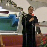 Reverend Terri McLain from St. James UAME, Wednesday night, June 11, 2014