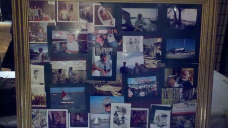 Dad's funeral picture collage