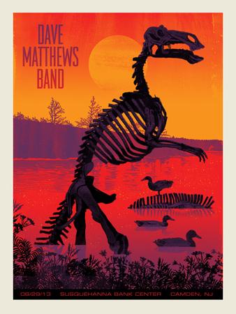 DMB Tour 06/29/13 poster