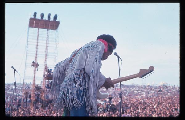 Jimi Hendrix Live at Woodstock, 1969