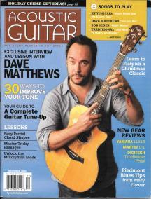 Acoustic Guitar Magazine - December 2009 cover