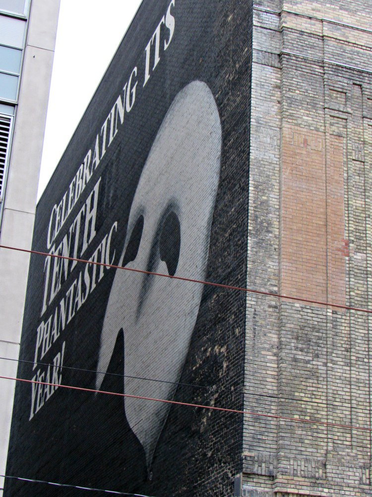 Ghost Sign for The Phantom of the Opera