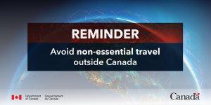 Travel Advisory Canada