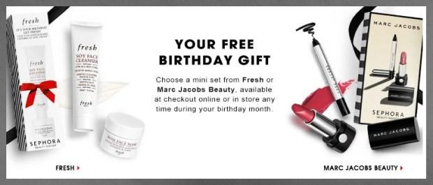 Sephora Beauty Insider Birthday Gift 2016