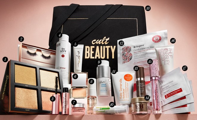 Cult Beauty Creators Goody Bag