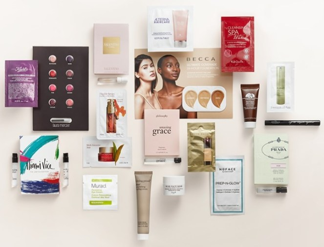 beauty sampler gift with purchase at nordstrom