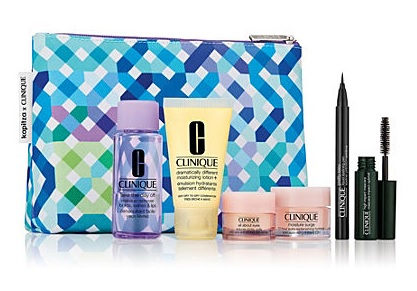 clinique gift with purchase at stage stores