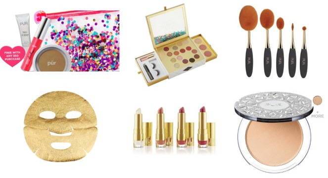 pur cosmetics gift with purchase and products