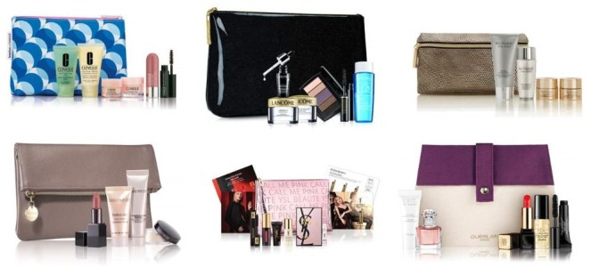 beauty gifts with purchase at bergdorf goodman and neiman marcus