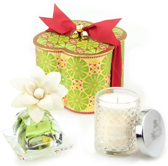 Agraria Lime & Orange PetiteEssence and Candle Exclusive Gift Set