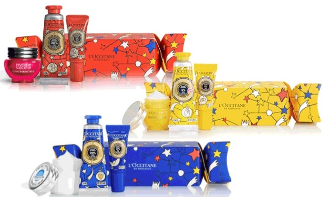 l'occitane holiday crackers gift with purchase