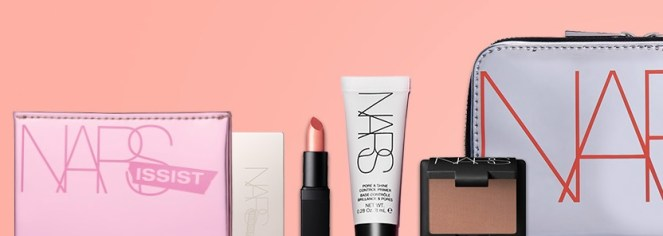 nars cosmetics gift with purchase