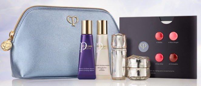 cle de peau beauty gift with purchase