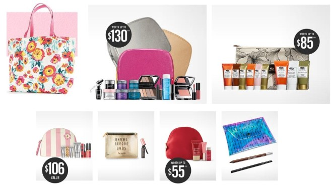 Belk Spring Beauty Event gifts with purchase