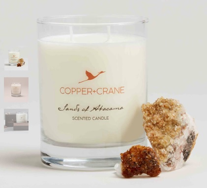Copper + Crane Candle gift with purchase