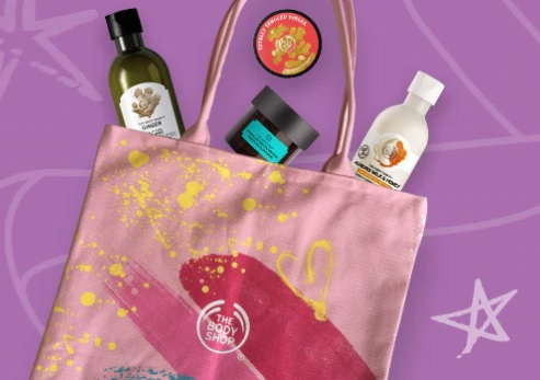 The Body Shop Mother's Day Tote 2019