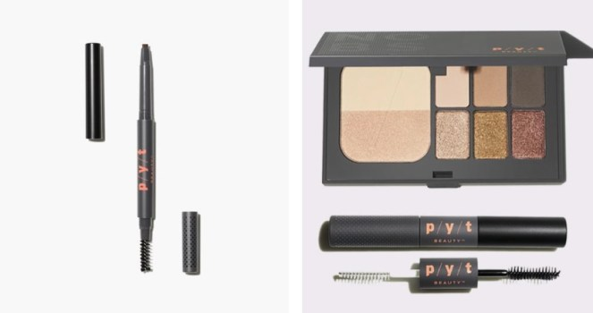 PYT Beauty brow pencil and palette/mascara bundle
