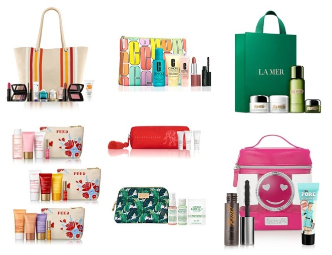 Bloomingdale's Beauty Treats Beaut Event gifts with purchase