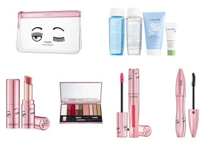 Nordstrom exclusive Lancome x Chiara Ferragni collection and gift with purchase