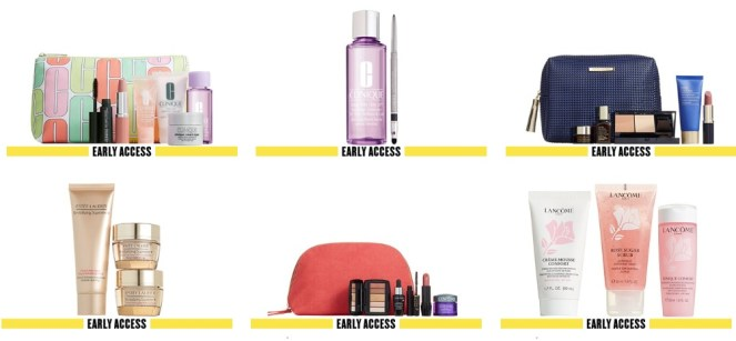 Nordstrom Anniversary Sale 2019 Beauty gifts with purchase Early Access